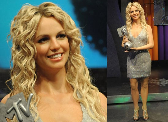 Photos of Britney Spears New Waxwork at London Madame Tussauds