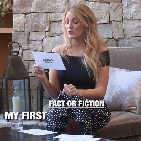 "Blake Lively ""Fact or Fiction"" With Glamour Video 2017"