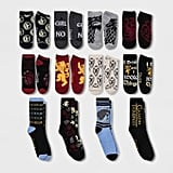 A Peek at the 12 Pairs of Socks Inside