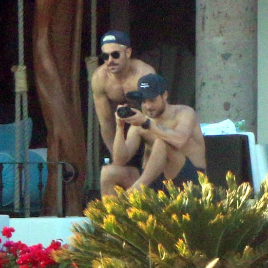 Zac Efron and Dylan Efron Shirtless in Mexico Pictures 2019