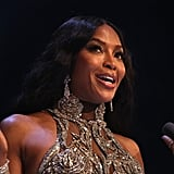 Naomi Campbell Accepting Fashion Icon Award at the British Fashion Awards 2019 in London