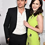 Rachel Brosnahan and Jason Ralph