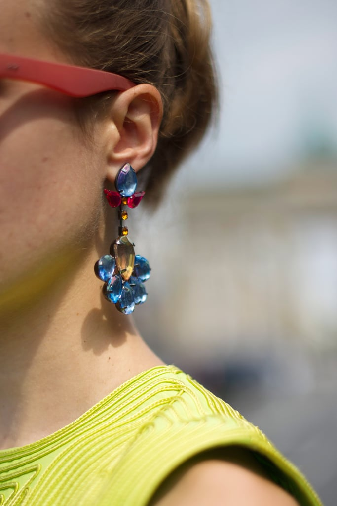 Floral-Inspired Earrings
