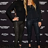 Even then, Gigi coordinated looks with her mom. They wore fitted tops and leather skinnies at The Company You Keep New York premiere in 2013.