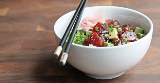 Easy Tuna Poke Bowl With Avocado
