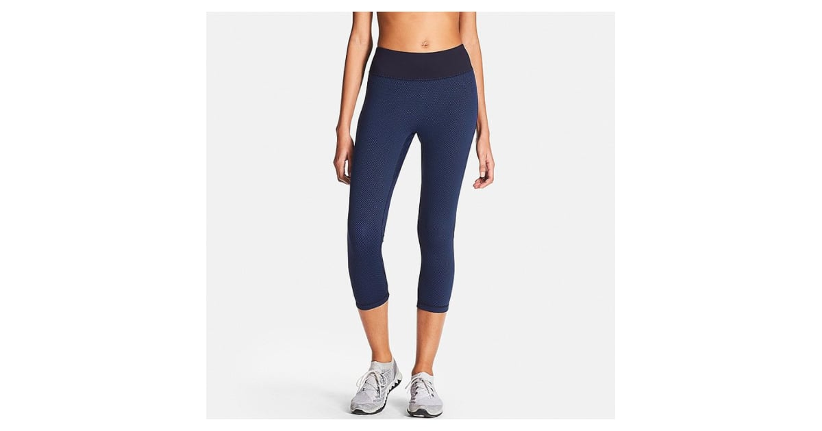 Airism Printed Cropped Leggings Heads Up Uniqlo Is A Surprising Source Of Affordable Fitness Wear Popsugar Fitness Photo 13