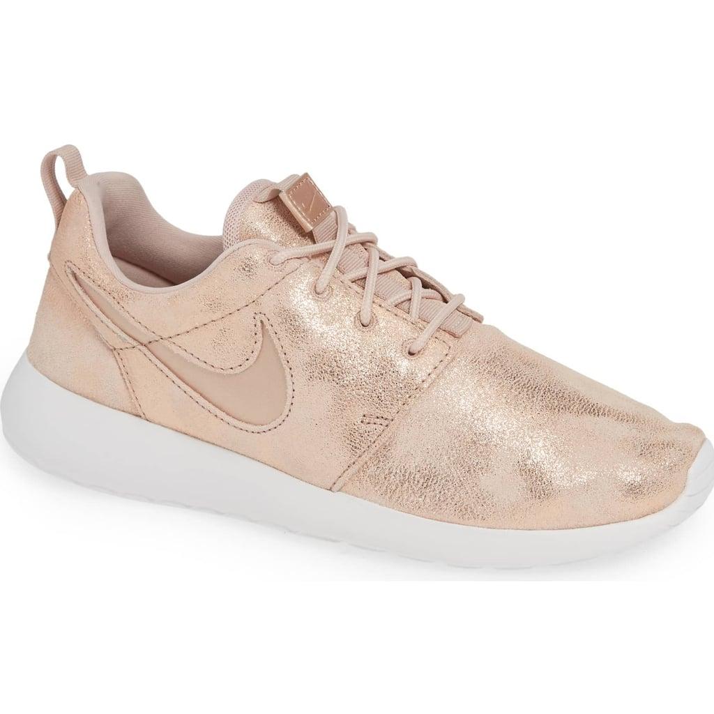 Rose Gold Nike Sneakers