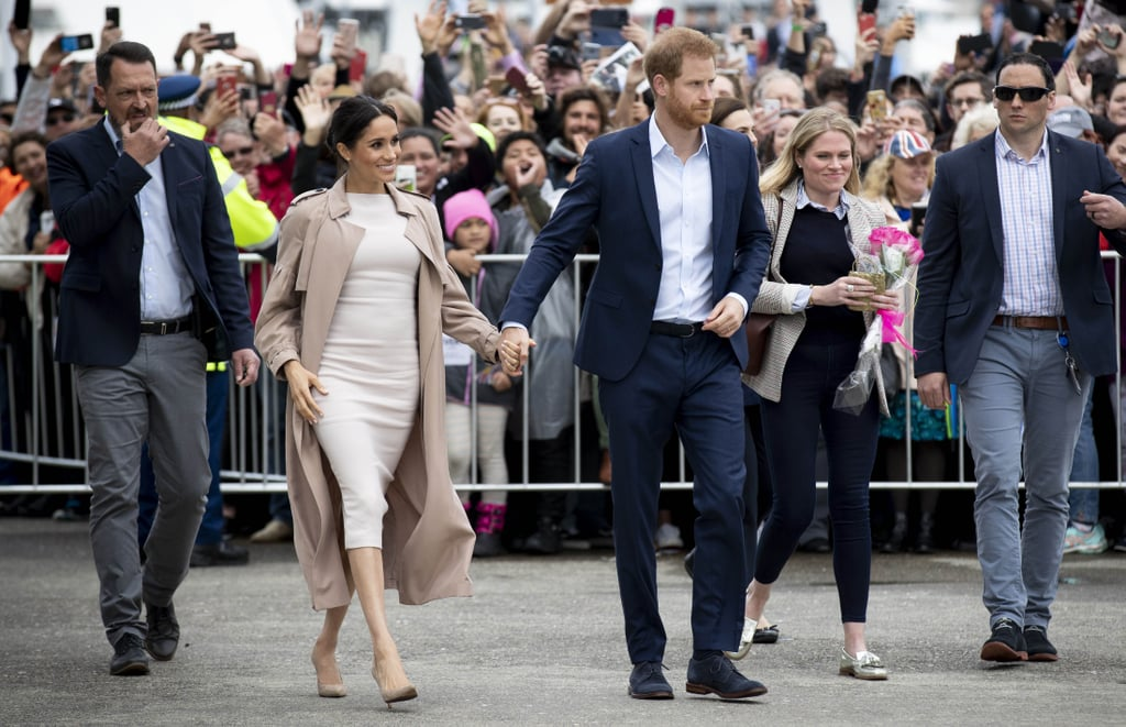 "There may be a handful of Meghan Markle look-alikes out in the world, but Prince Harry wants everyone to know that his wife is one of a kind. While greeting a crowd in New Zealand on Tuesday, Meghan stumbled across a fan who bore a striking resemblance to her. After nearby onlookers pointed it out to Harry, he, of course, had the sweetest response: ""There's only one person that looks like my wife."" Aw! Harry and Meghan have been serving up so many cute moments during their royal tour of Australia and New Zealand, and it's clear he only has eyes for Meghan.       Related:                                                                                                           Harry and Meghan Got Adorably Competitive While Tossing Boots Around in New Zealand"