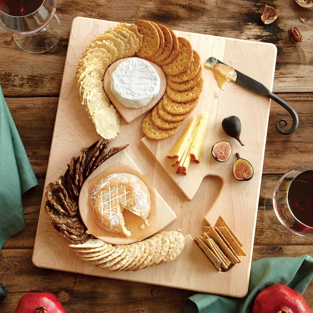 Cheese & Crackers Serving Board ($48)