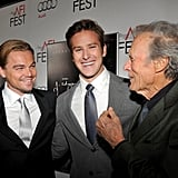 Leonardo DiCaprio Premieres J. Edgar With Naomi, Ed, and Jokester Armie