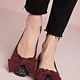 Bisue Ballerinas Tweed Ballet Flats