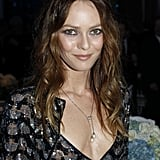 Vanessa Paradis gave a sly smile at the Sidaction event.