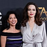 Angelina Jolie Drops Jaws While Being Honored at the Hollywood Film Awards
