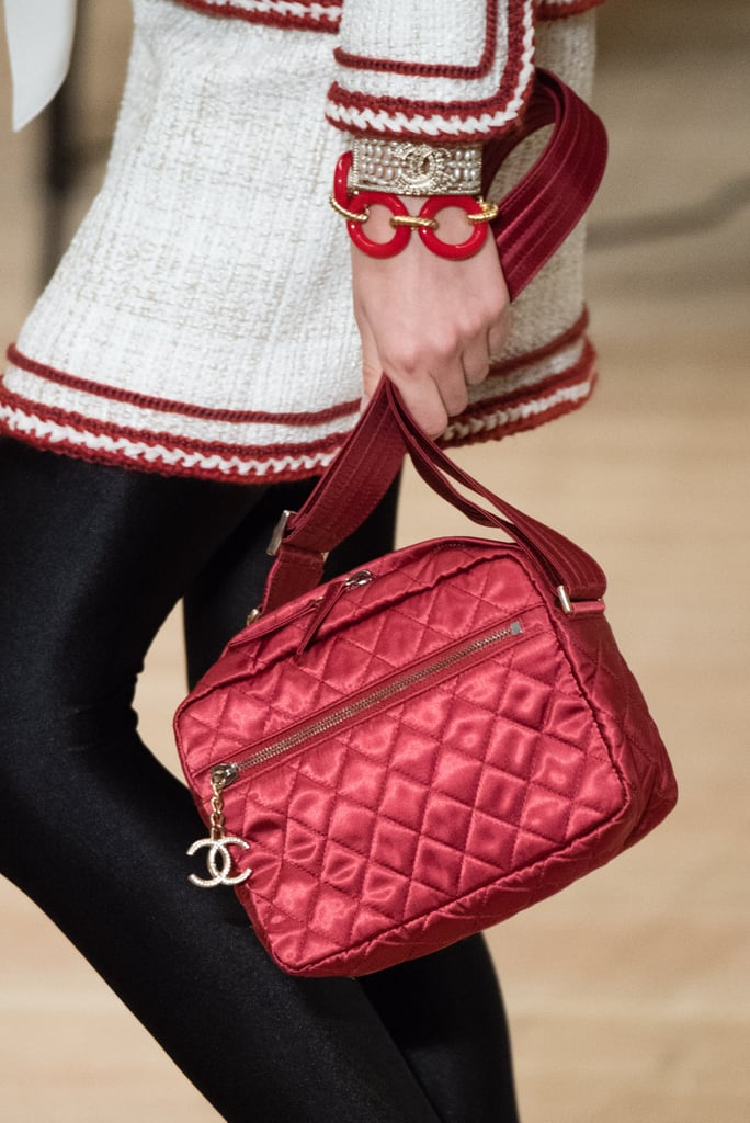 This Cherry Red Quilted Style Looks Functional, Too