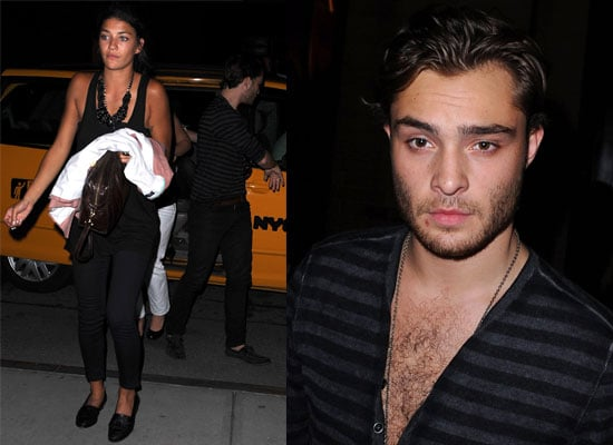Ed Westwick And Jessica Szohr Celebrate Ed's 22nd Birthday