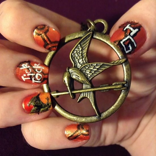 10 Catching Fire Manicures For the Ultimate Hunger Games Fan