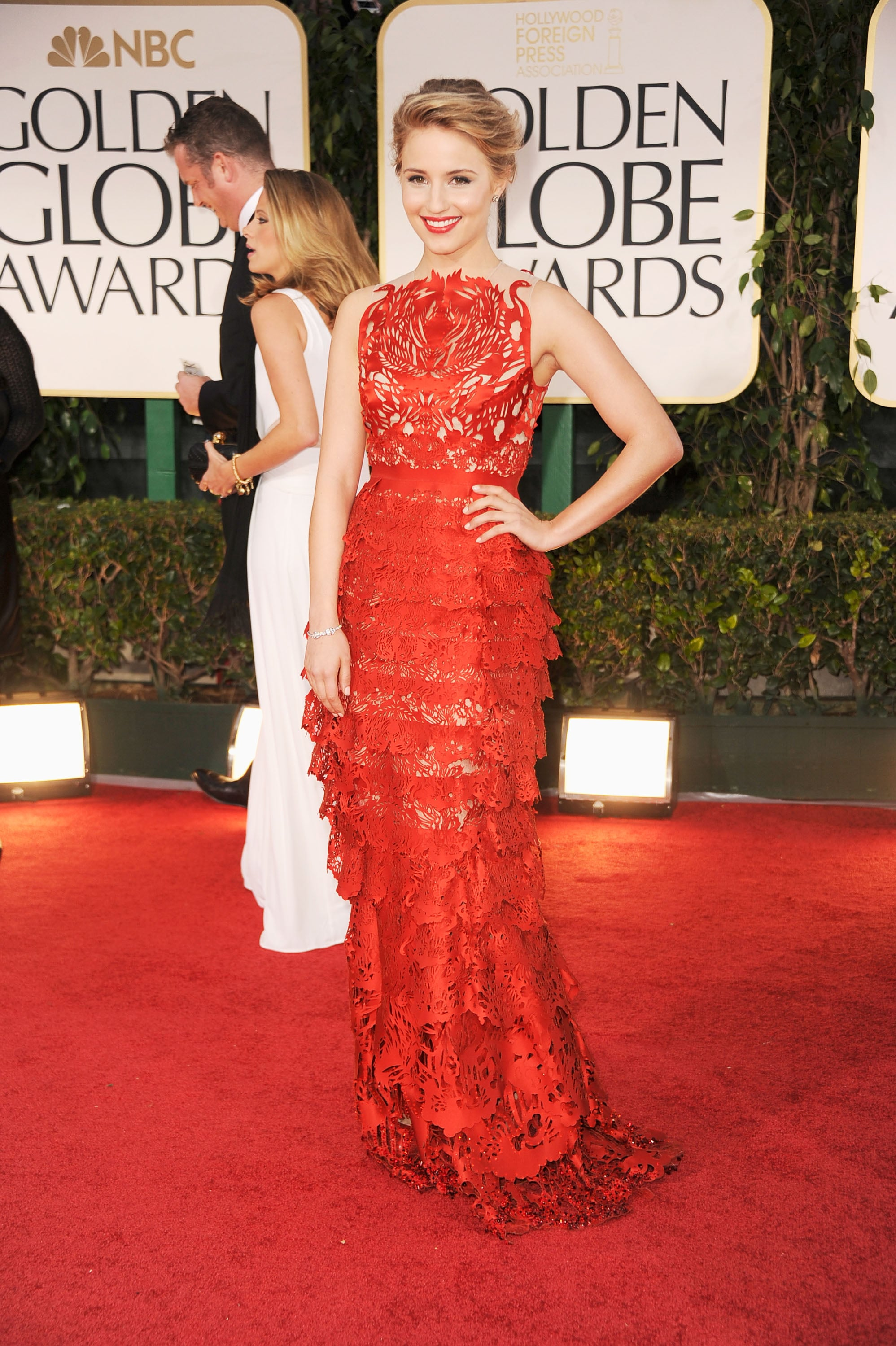 Golden globes 2012 red carpet dress pictures popsugar celebrity australia - Golden globes red carpet ...