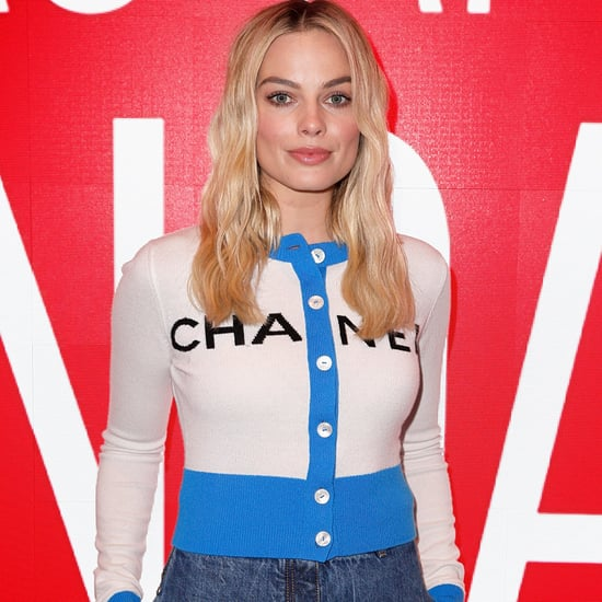 Margot Robbie Wearing Wide-Leg Jeans December 2018