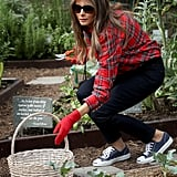 Melania's Gardening Outfit