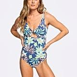 Roxy Womens Bali Dreamers One Piece Swimsuit
