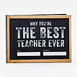 Why You're the Best Teacher Ever Journal