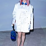 Maisie Williams at the Christopher Kane London Fashion Week Show