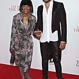 Lenny Kravitz walked down the red carpet with Cicely Tyson.