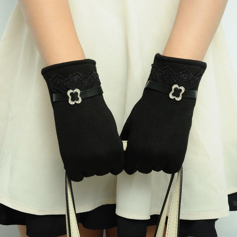 Chalier Buckle Gloves