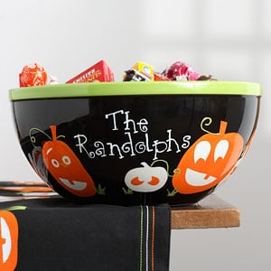Off to Market: Halloween Candy Bowl