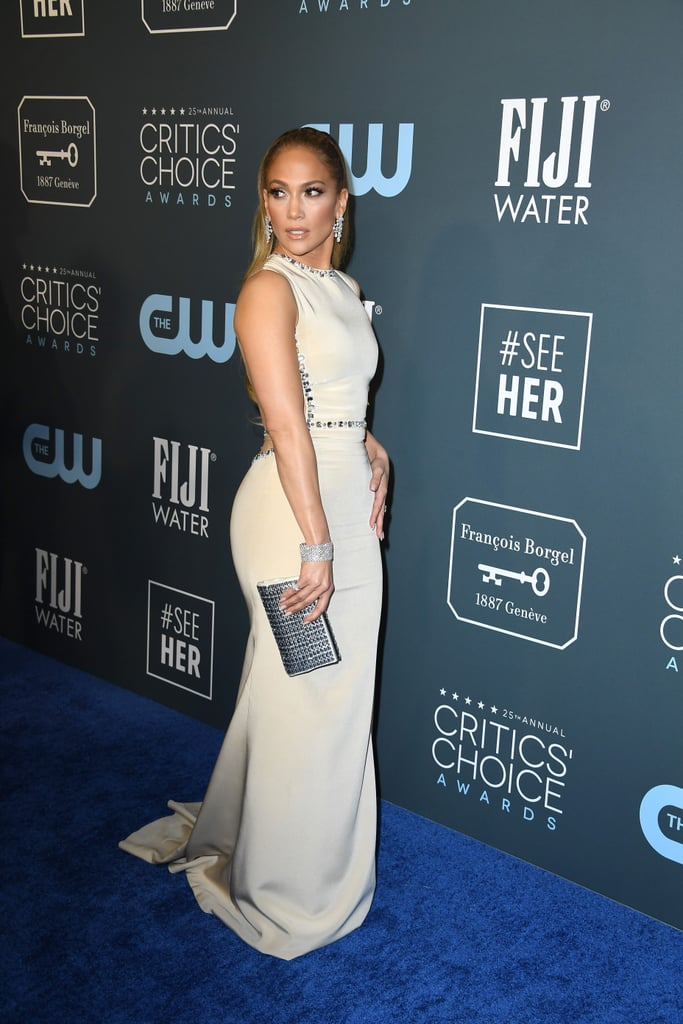 Jennifer Lopez at the 2020 Critics' Choice Awards