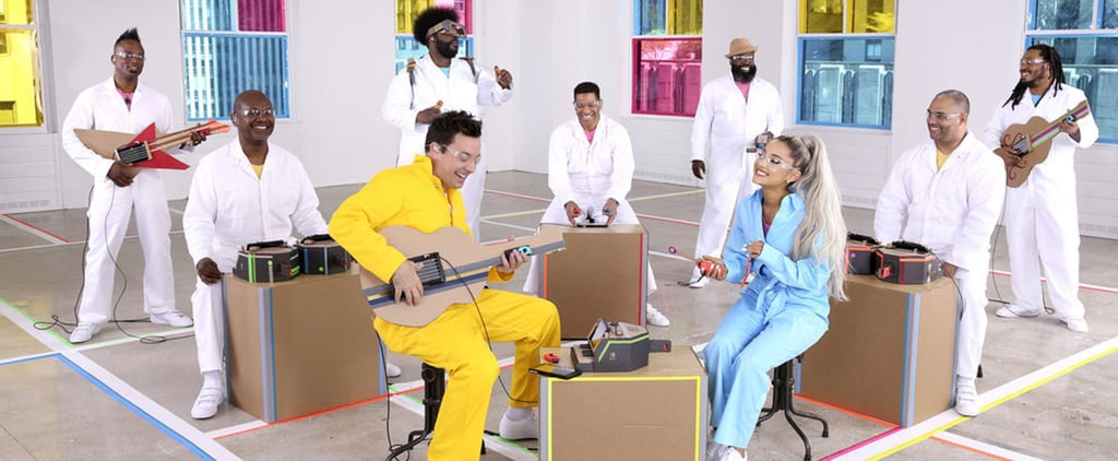 "Ariana Grande Sings ""No Tears Left to Cry"" Nintendo Labo"
