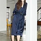 Drapey Cinched-Waist Dress
