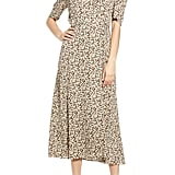 AFRM Hughes Midi Wrap Dress