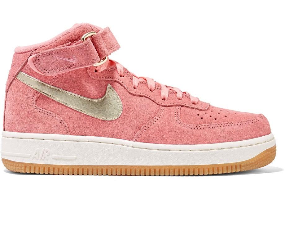 Nike Air Force 1 Suede High-Top Sneakers  8d9506ee6