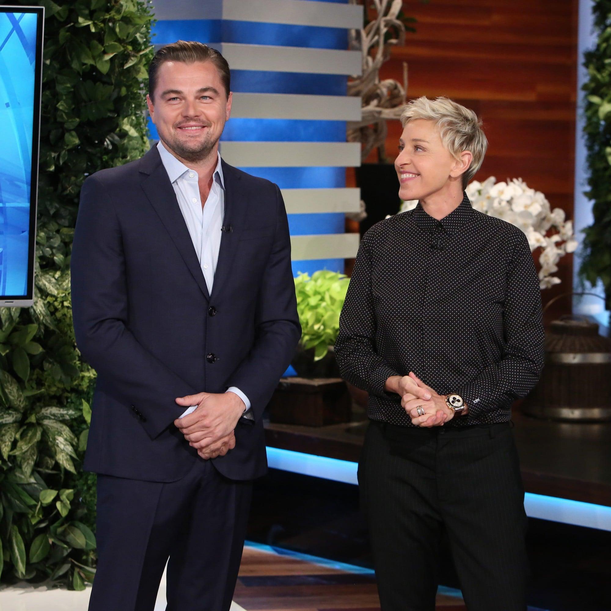 Leonardo DiCaprio on The Ellen Show November 2016