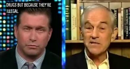 Briefing Book! Ron Paul and Stephen Baldwin War on Drugs