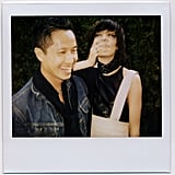 Phillip Lim and Irina Lazareanu share a laugh.