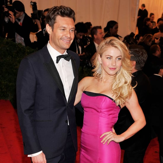 Julianne Hough and Ryan Seacrest at Met Gala Pictures 2012