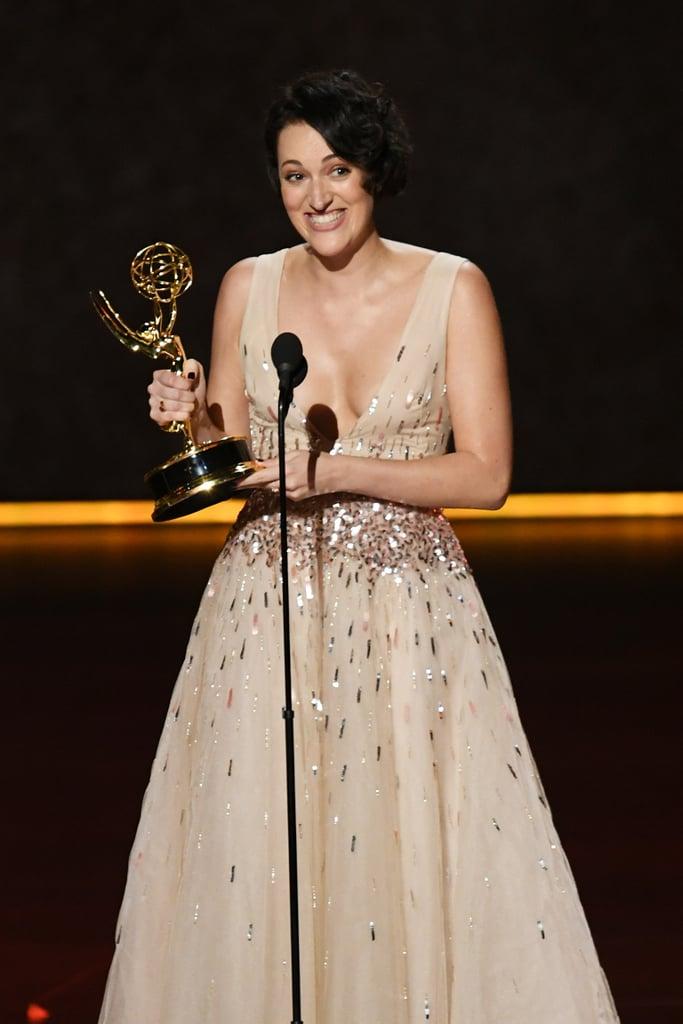 Phoebe Waller-Bridge's Emmys Acceptance Speech Videos 2019
