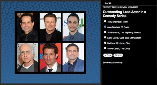 Predict the Emmy Winners and Win an iPad!