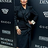 June at a Screening of Beatriz at Dinner in New York City