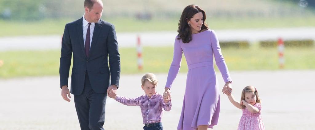 الأمير وليام وكيت ميدلتون خلال حفل زفاف صوفي كارتر