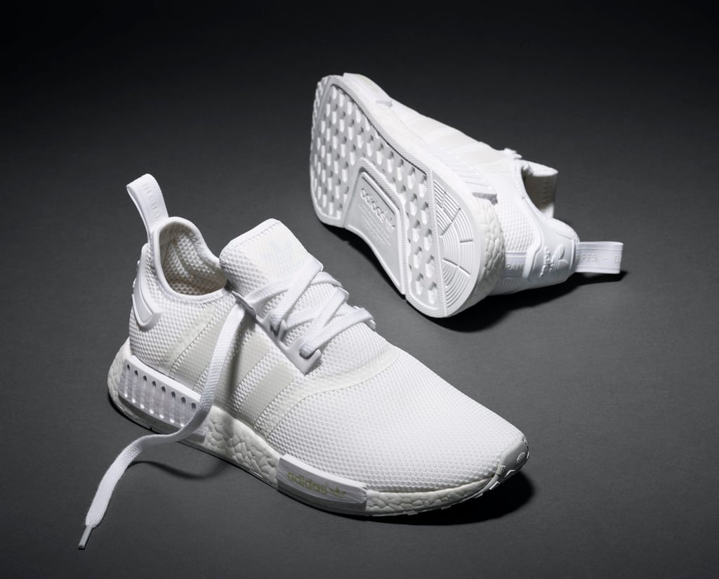 New Adidas Triple White NMD Sneakers  553e1c4e6