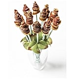 Bouquet of Bacon Roses in a Football Vase