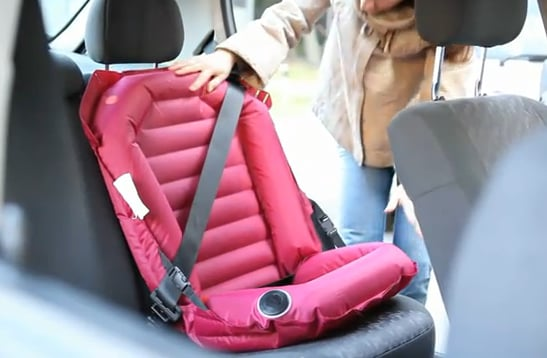 Easy Car Seat — the Inflatable Booster Seat | POPSUGAR Moms