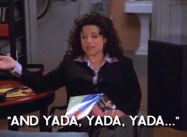 When Elaine Yada Yada Yadas Sex
