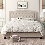 Andover Mills Pascal Tufted Upholstered Low Profile Standard Bed