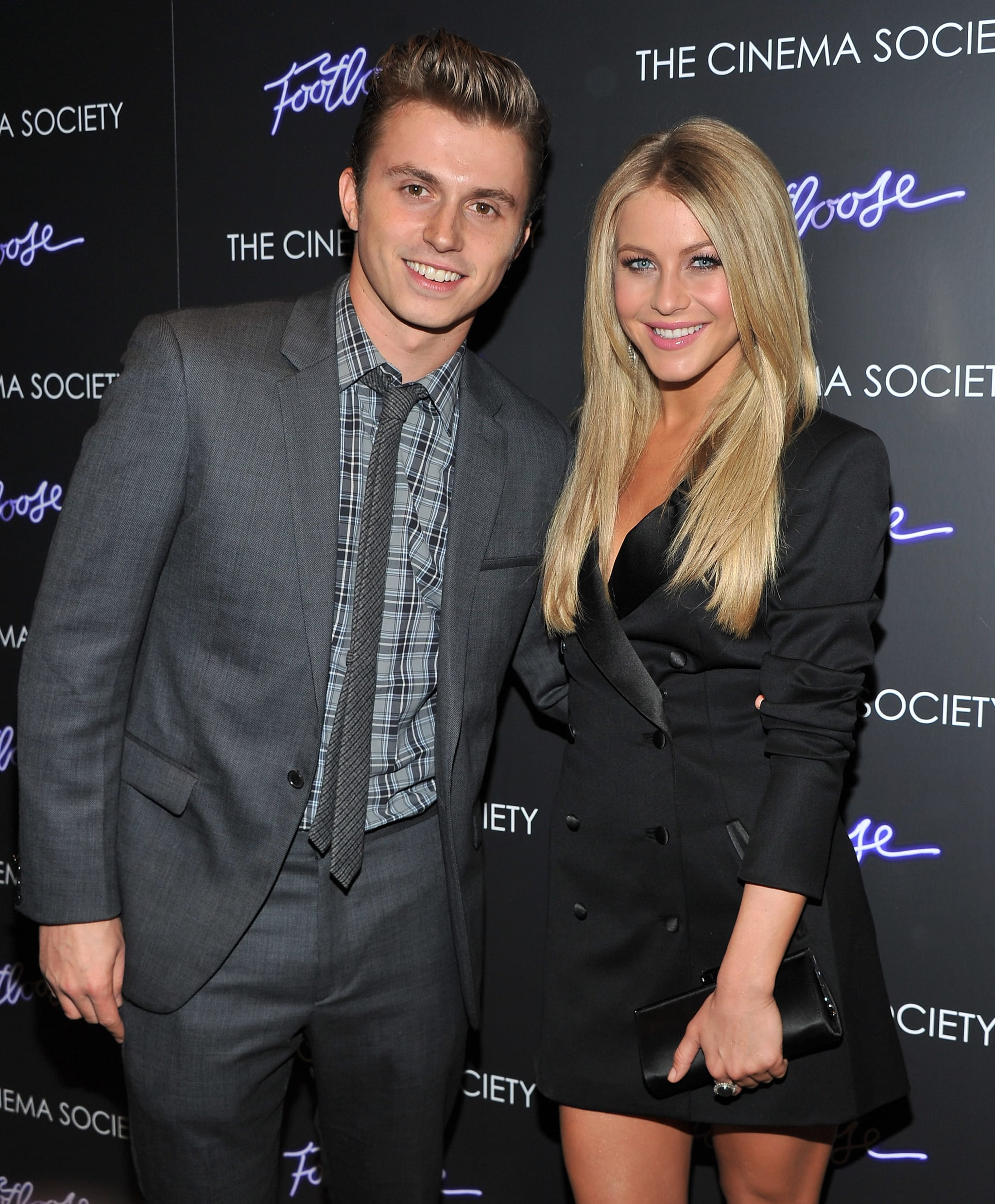 Julianne Hough And Kenny Wormald Smiled For Cameras At The