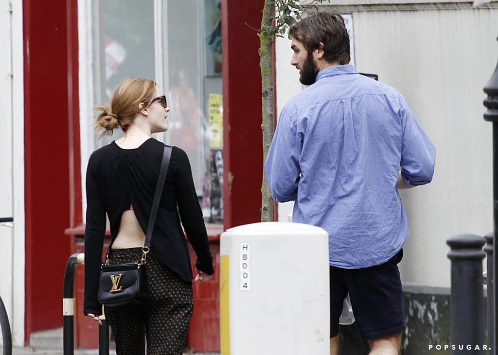 Emma Watson and Her Hot Beau Show PDA