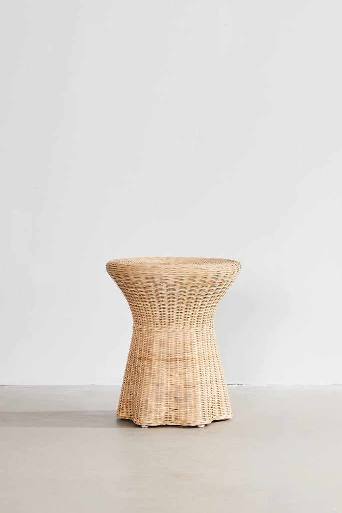Pierce Wicker Side Table 50 Wonderfully Woven And Rustic Rattan Furniture Pieces Your Home Needs Asap Popsugar Home Photo 41